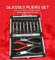 rimless glasses plier set ,glasses screwdriver set  matt material good quality low price wholesale