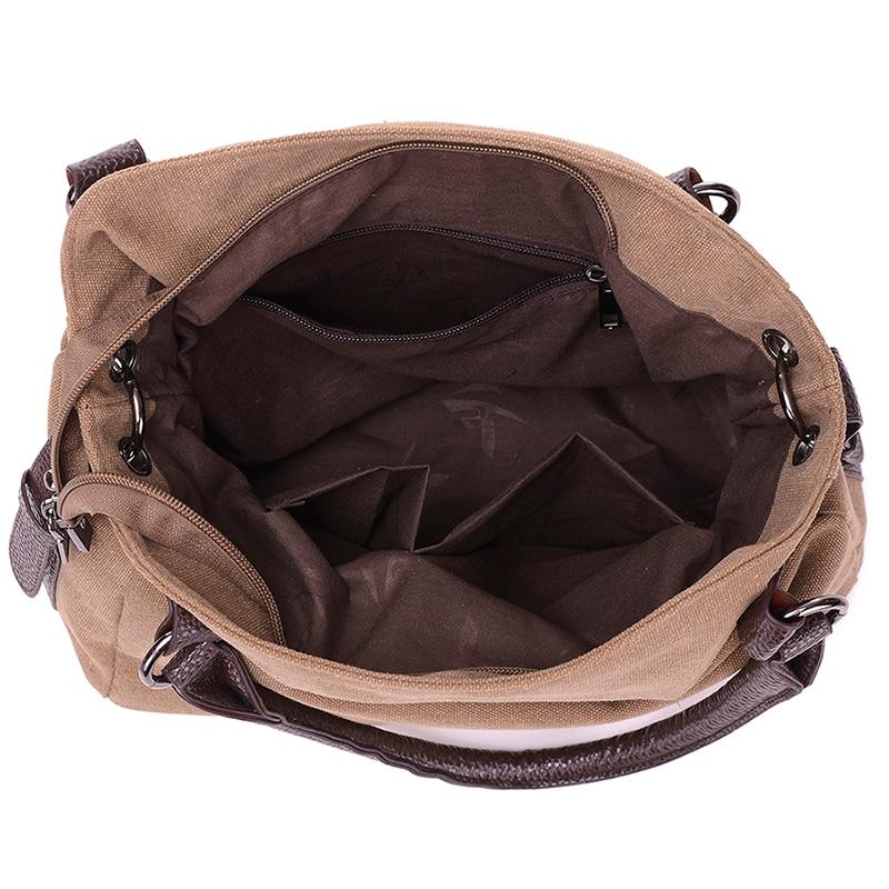 sacolas novos mulheres homensageiro lona Color : Blue, coffee, grey, purple Red