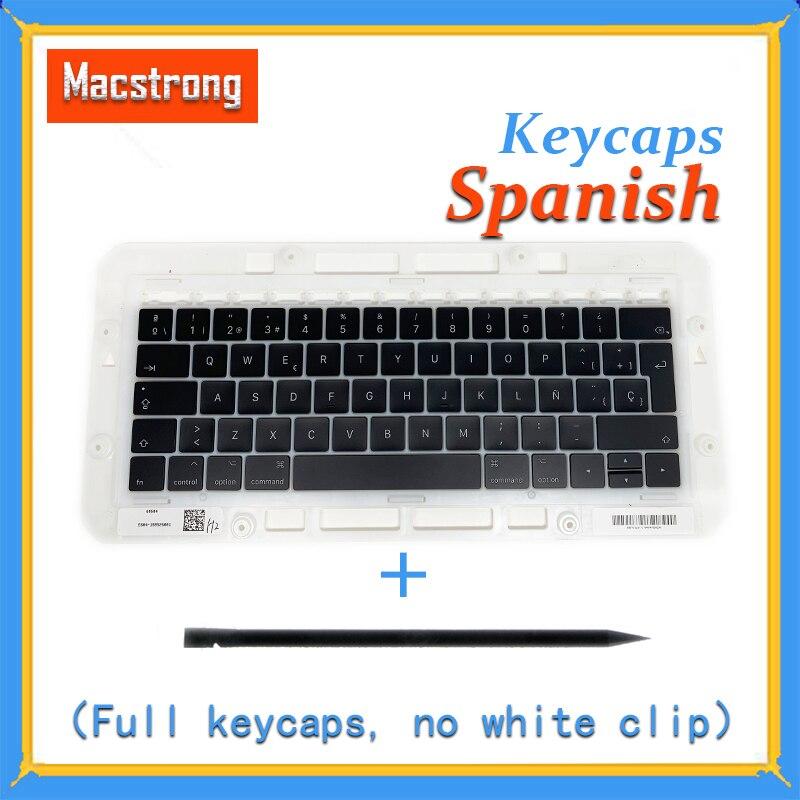 Original A1706/A1707/A1708 Spanish Keycaps For Macbook Pro/Air Retina 13