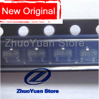 100pcs FDN306P FDN306 306P SOT23-3 New Original IC Chip