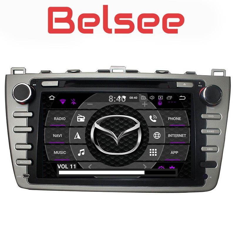 Belsee pour Mazda 6 2008 2009 2010 2011 2012 Android 8.0 voiture Radio Autoradio Navigation GPS Stéréo Auto Multimédia Lecteur 8 Core