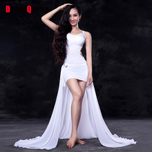 2017 Sex Lady Belly Dance Dress Women Modal Chiffon 3Pcs(Top&Skirt&Leggings) Wings Belly Dance Gypsy India Oriental Costumes
