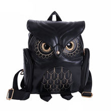 Cute Owl Fashion Backpacks Cartoon Women Backpack Softback School Bags Teenage Backpacks for Girls#Z(China)