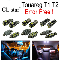 18pc X Canbus Error Free Volkswagen Touareg T1 T2 LED Interior Light Kit Package 2004 2009