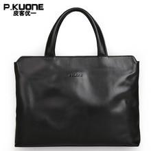 New Arrival cowhide leather Shoulder bags, commercial handbag, business portable briefcase