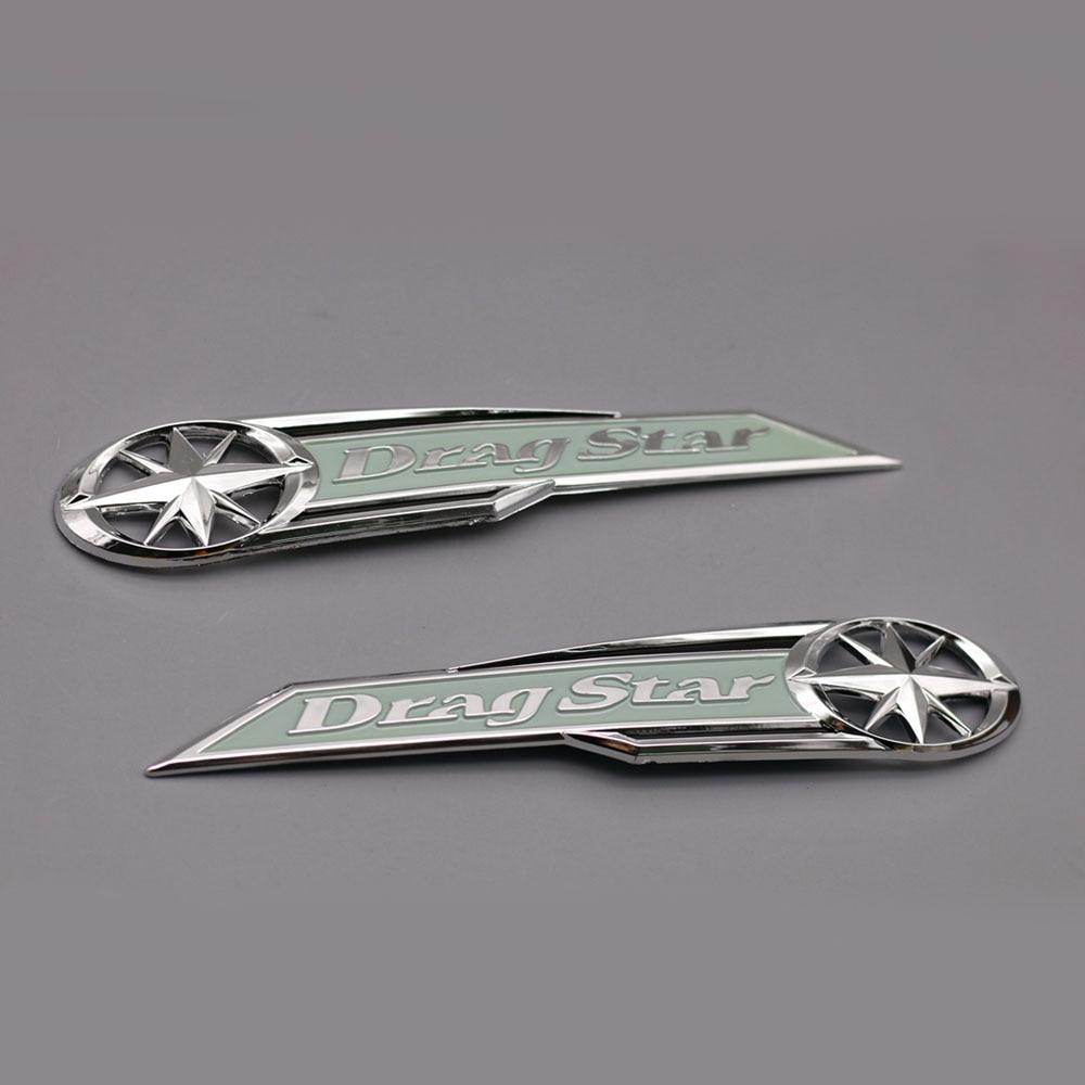 Motorcycle High Quality Gas Tank Emblem Badge Decals 3D For Yamaha DragStar XV Vstar XVS 250 400 650 1100 emblem