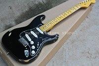 Free shipping Custom Shop black st electric guitar.master handmade relic guitar,David Gilmour aged st guitar,classical version