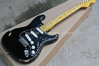 Free shipping Custom Shop black st electric guitar.master handmade relic guitar,David Gilmour aged st guitar,classical version