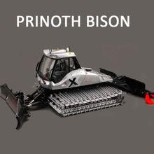 Изысканный ROS 1:43 BISON X уборочная машина для уборки снега, машина для уборки автомобилей, литая игрушка, модель для украшения коллекции