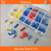 18 Kinds 160pcs Brass Terminal Assortment Kit Set 10 18 AWG Terminals Combination Wire Terminal Assembly