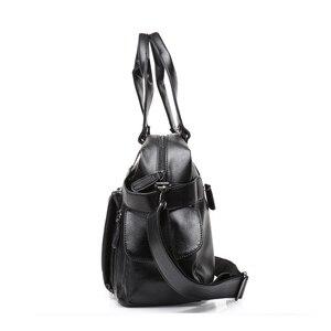 Image 3 - DCOS Hohe Qualität Männer Reisetasche freizeit Männlichen Handtasche Vintage Schulter Tasche Männer Messenger Seesack Tote Tasche