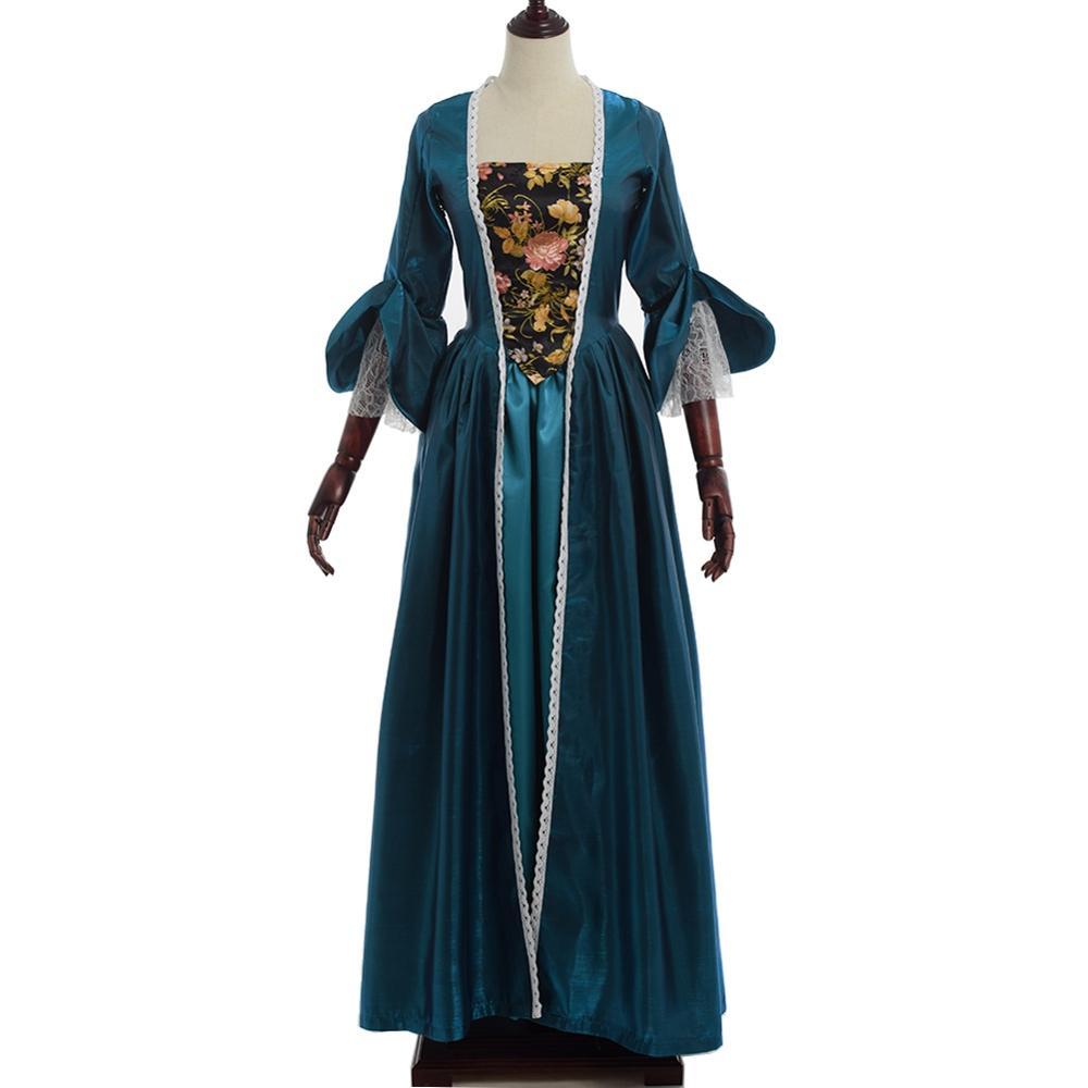 Filles Vintage Quinceanera robe femmes Cosplay victorien reconstitution théâtre Colonial gothique période robes de bal Costumes