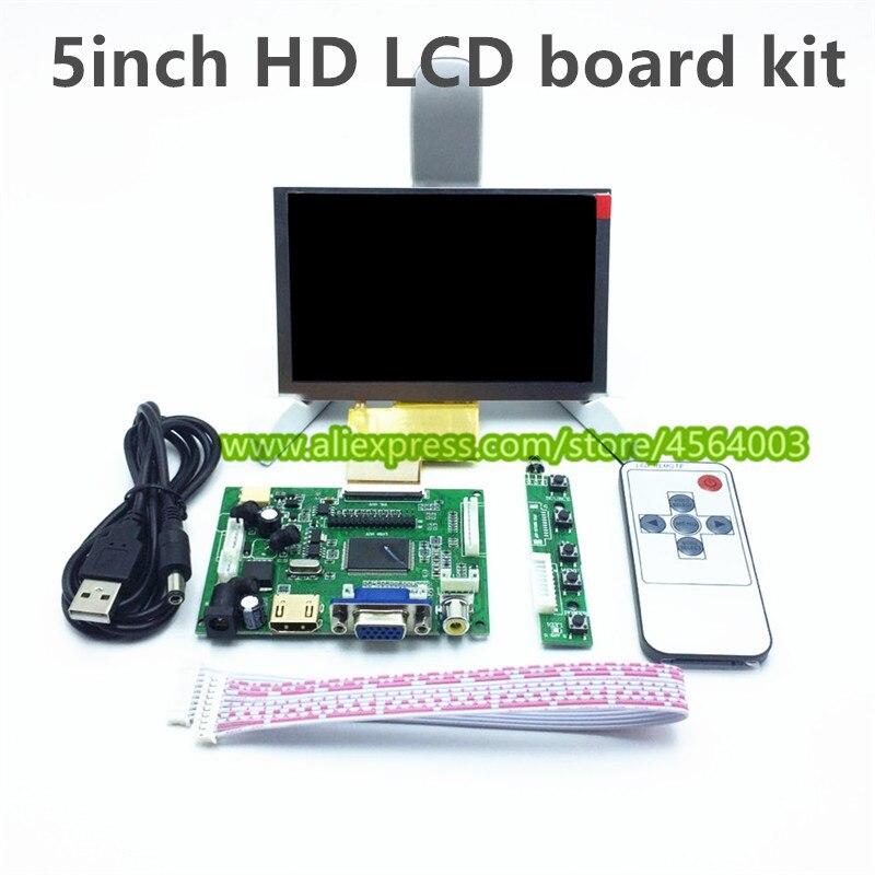 """VGA AV LCD Controller Board  KYV N2 V1 For 5.6/"""" AT056TN53 V1 640x480 LCD"""