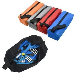 Utility Waterproof Hand Repair Tool Bag Zipper Hardware Storage Toolkit Make Up Fishing Travel  Cosmetic Organizer Hand Bag