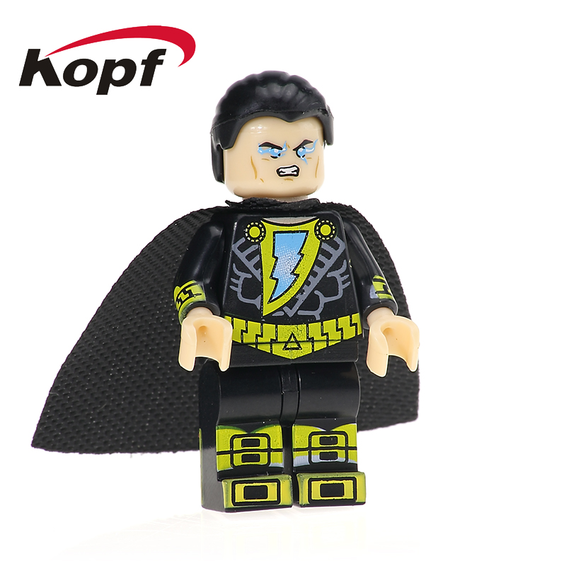 Colle Black Adam Sharon Carter Spider-Man Spiderman Building Blocks Super Heroes Action Figures Bricks Children Gift Toys KL036