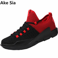 Ake Sia 2017 Hot Sales Casual Shoes For Men Fashion Light Breathable Cheap Lace Up Male