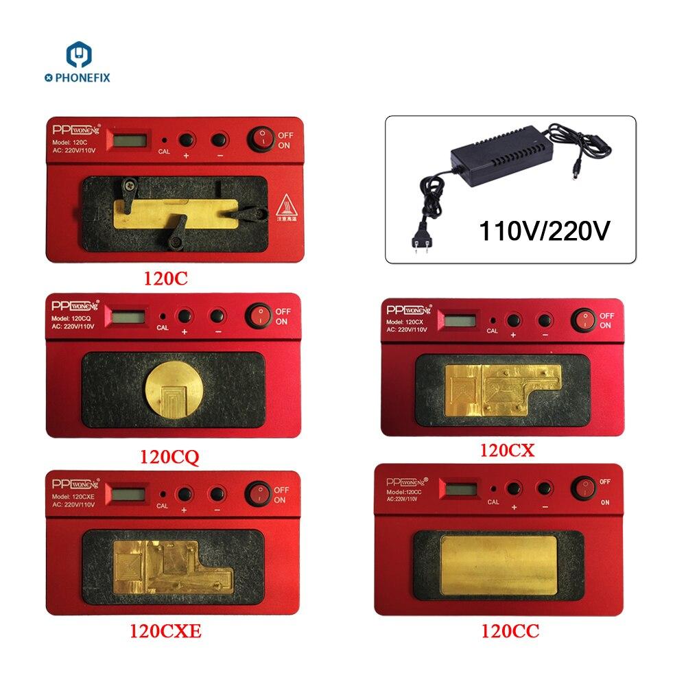 110V 220V Mini PPD 120CXE 120CX 120CC 120CQ 120C Phone motherboard pre Heating Rework Station Heating