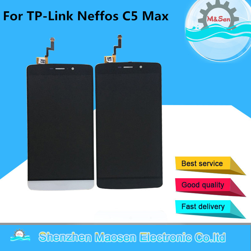 Original M&Sen For 5.5 TP-Link Neffos C5 Max LCD screen display+touch panel digiziter for TP-Link Neffos C5 Max lcd assembly