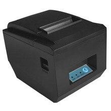 80mm impresora térmica de Recibos Impresora de Cocina restaurante de impresión POS ESC con cortador de Ethernet de puerto Serie USB A Prueba de agua