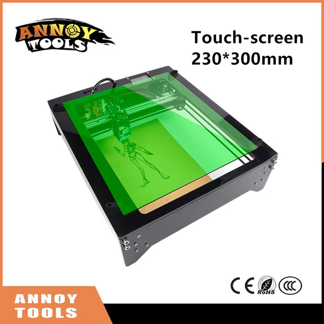 1600mw/2500mw touch-screen laser Power adjustable grayscale engrave Diy laser engraving machine Wood Router as Christmas Present