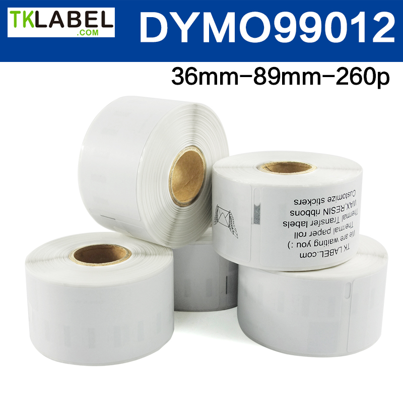 1000 50mm Diameter Clear Round Labels