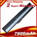 7800 mAh bateria do portátil para Asus A31-B53 A31-K52 A32-K52 A41-K52 A42-K52 K52L681 A42f A42j A52J K52J F85 F86 K42 A52f A52D K42J