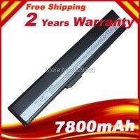 7800mAh Laptop Battery For Asus A31 B53 A32 K52 A31 K52 A41 K52 A42 K52 K52L681