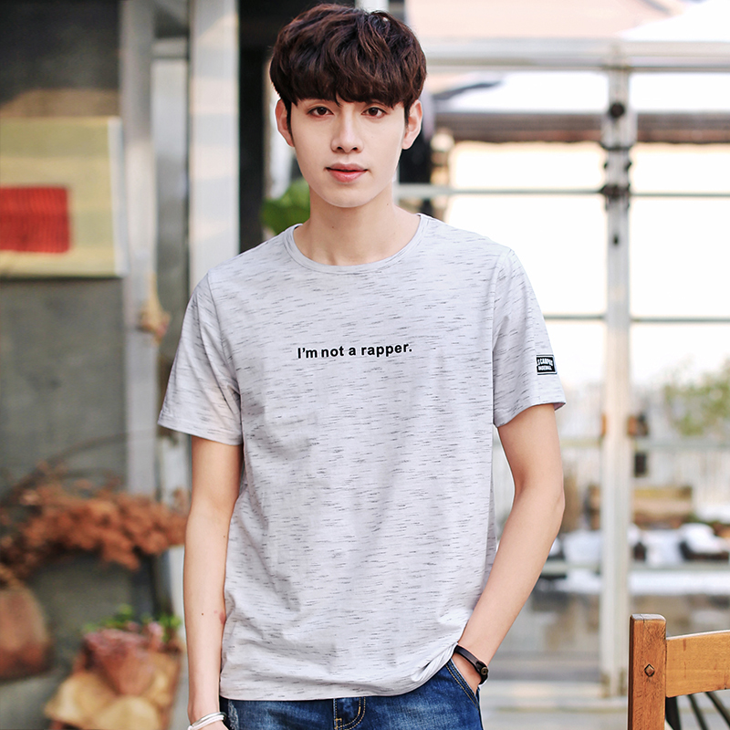 Nisexper New Fashion Brand Men Clothes Meteor Shower Printed Mens T-shirts Cotton T Shirts Mens T Shirt Men Summer Tee Shirt