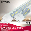 LEDVAS 22W 28W T8 LED Tube 4Ft Cree SMD2835 288leds PF>0.9 1200mm AC85-265V White Warm White factory outlets 2 Year Warranty 10x