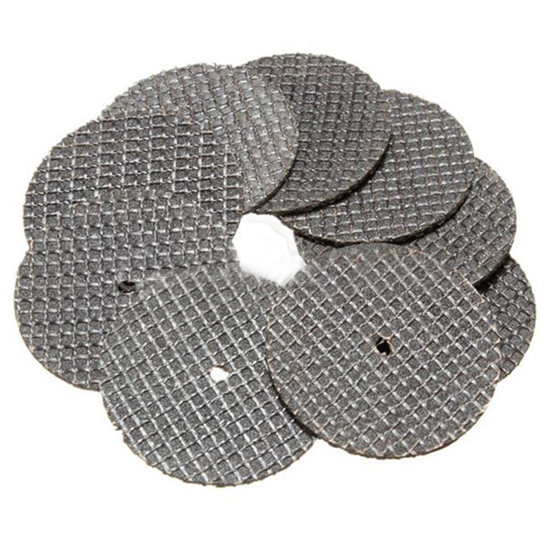 25pcs Metal Cutting Disc High Quality Resin Cutting Wheel Cut-off Discs Set 32mm with Mandrel Mayitr For Rotary Tool Accessories jin ruiguang cut pieces of high speed resin cutting wheel 105 1 16 dual wholesale