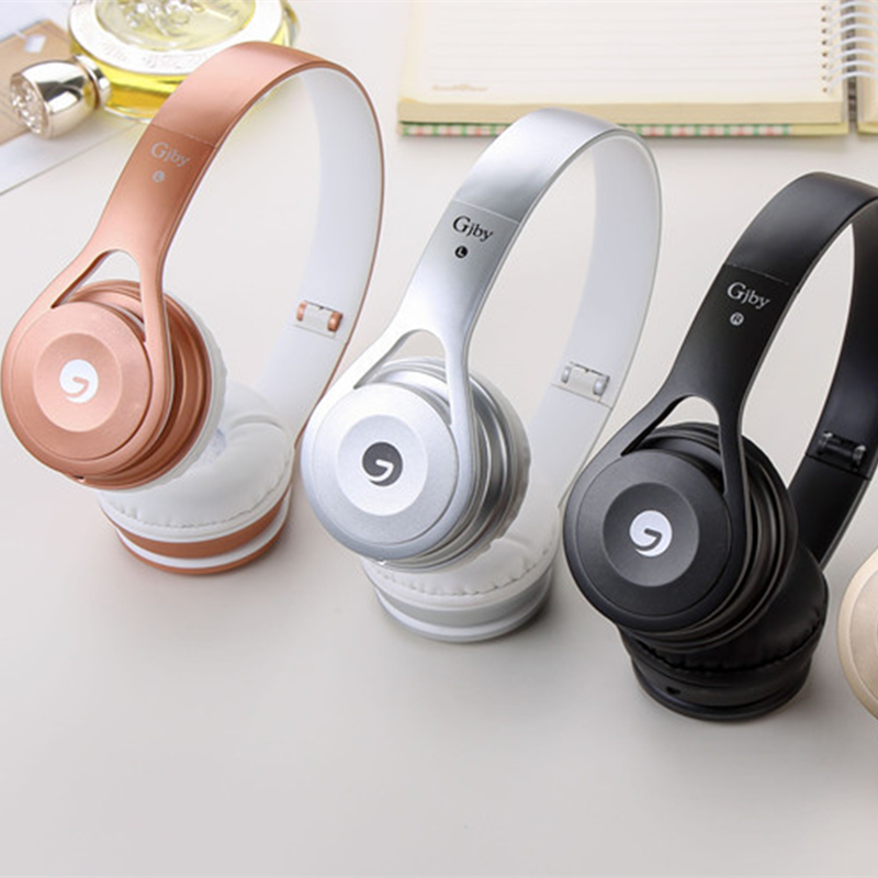 Fashion Headband Stereo Headphones w/ Microphone Portable Soft Wired Headset for iPhone Samsung Gift
