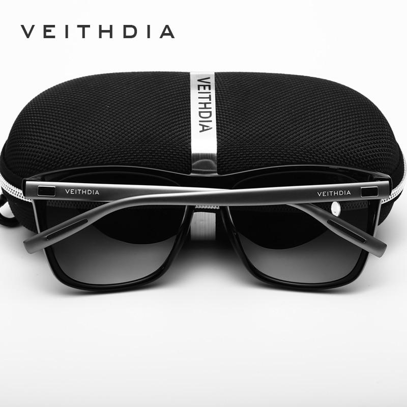 2b82d2303f VEITHDIA Brand Retro Aluminum TR90 Sunglasses Unisex Polarized Lens Vintage  Eyewear Accessories Sun Glasses For Men Women 6108-in Sunglasses from  Apparel ...
