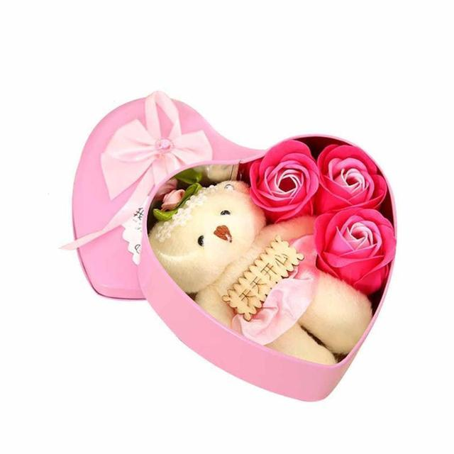Aliexpress Com Buy Home Utility Gift Birthday Gift Girlfriend Gifts Diy From Reliable Gift Diy: Aliexpress.com : Buy Heart Shaped Valentine's Day Flower