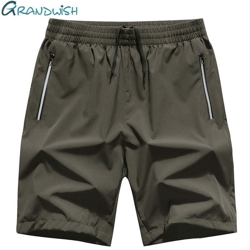 Grandwish Mens Big Shorts Loose Fit 2018 New Mens Shorts Straight with Zipper Pocket Summer Large Shorts Men 6XL 7XL 8XL,DA597