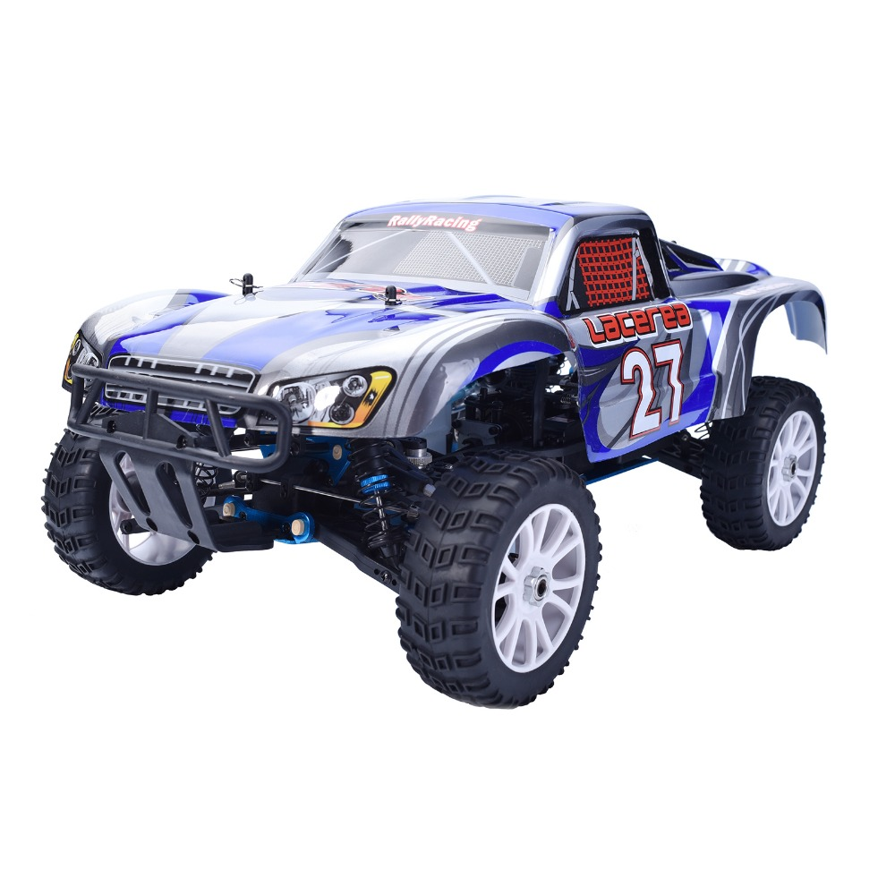 HSP 94863 Rc Car 1/8 Nitro Power Car 4wd Off Road Rally Short Course Truck RTR Similar REDCAT HIMOTO Racing car P2 02023 clutch bell double gears 19t 24t for rc hsp 1 10th 4wd on road off road car truck silver