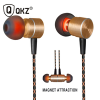 QKZ X41M Special Edition Magnetic In Ear Professional In Ear Headphone Clear Bass Metal Earphone Go