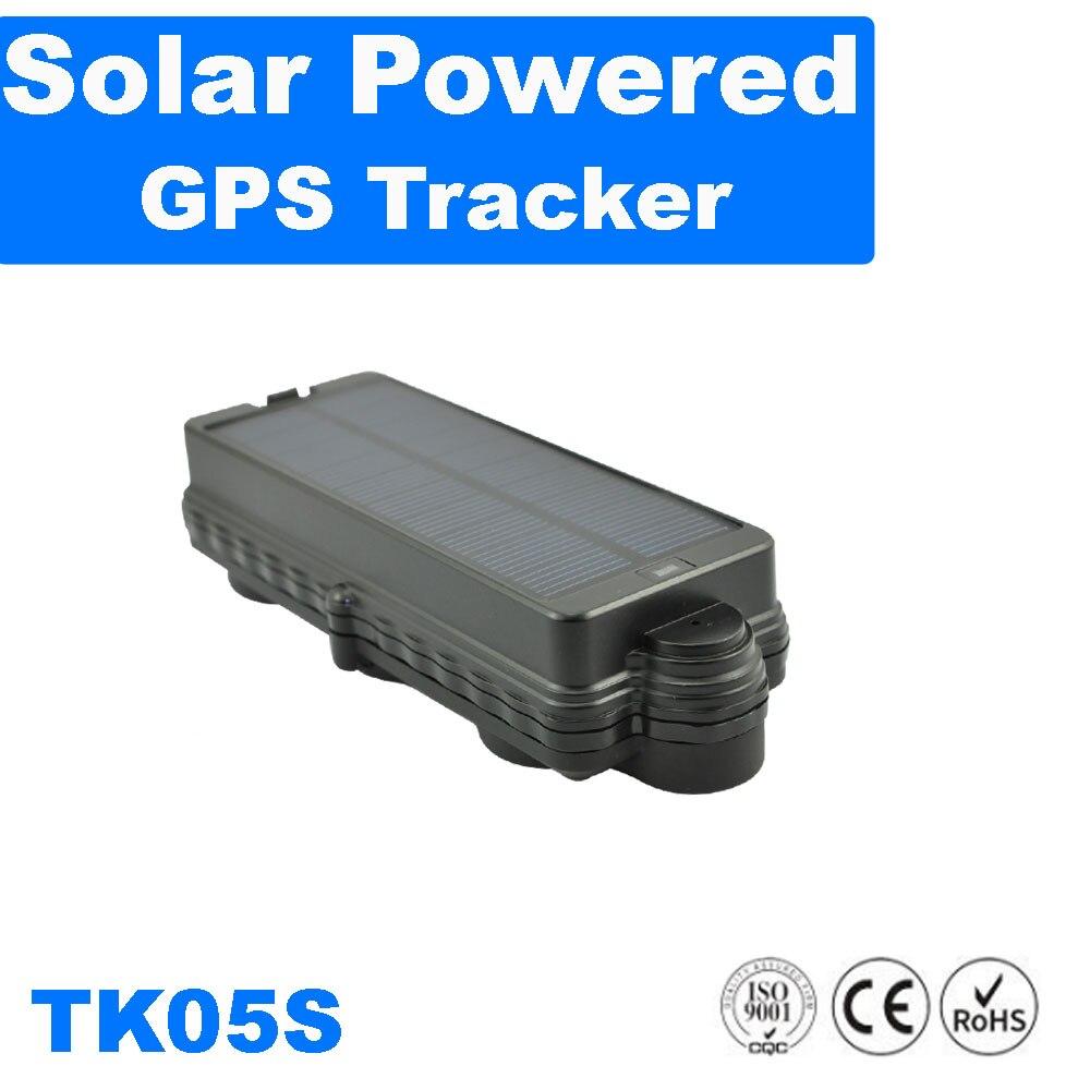 Traqueur solaire d'alarme de baisse d'anti vol d'aimant fort de traqueur de GPS de Wifi de véhicule de TK05S avec la fonction d'écoute traqueur de gps de voiture gsm