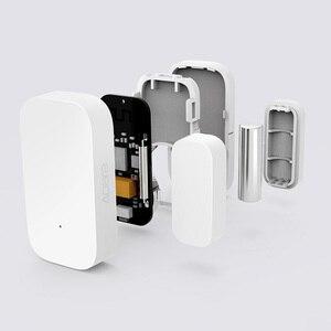 Image 3 - Aqara Finestra del Portello Del Sensore Wireless Zigbee Collegamento Intelligente Mini porta il Lavoro del sensore Con Mi App per Android IOS Phone