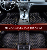 Leather Car floor mats for Vauxhall Opel Insignia/Buick Regal Sedan custom fit car all weather carpet floor liners foot mats