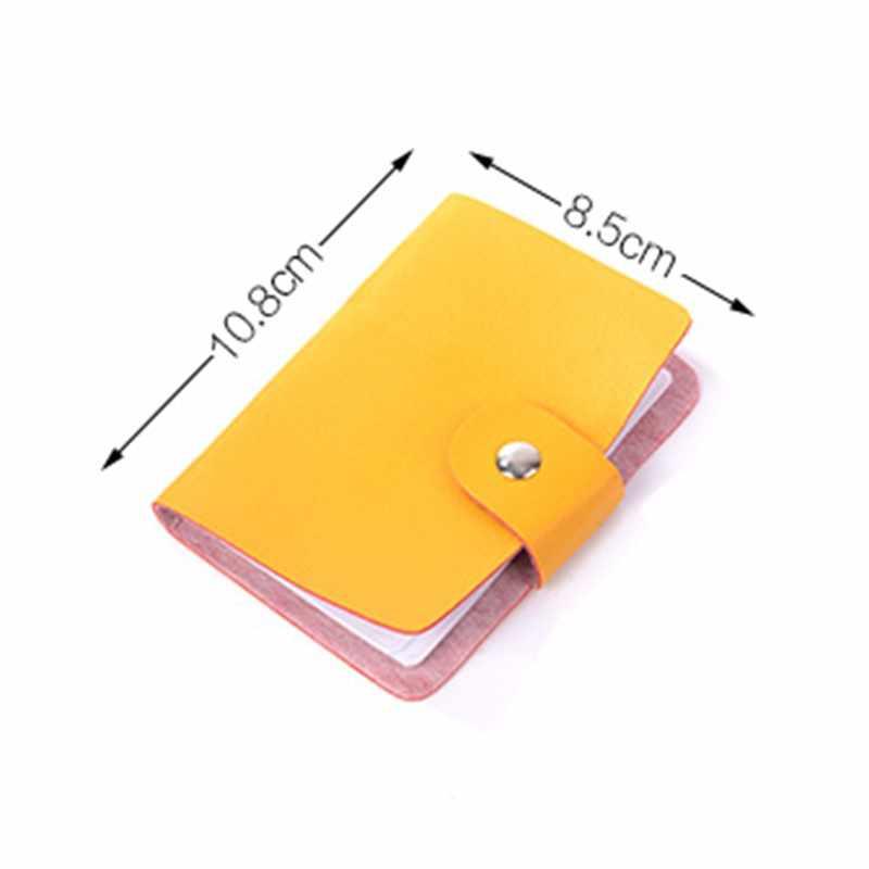 ID кошелек для кредитных карт креативный винтажный держатель для денег Органайзер Чехол Коробка 24 карты пакет дешевый бизнес кредитный держатель для карт посылка