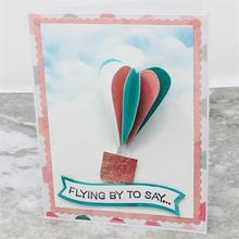 Stitched Hearts Metal Cutting Dies for Card Making