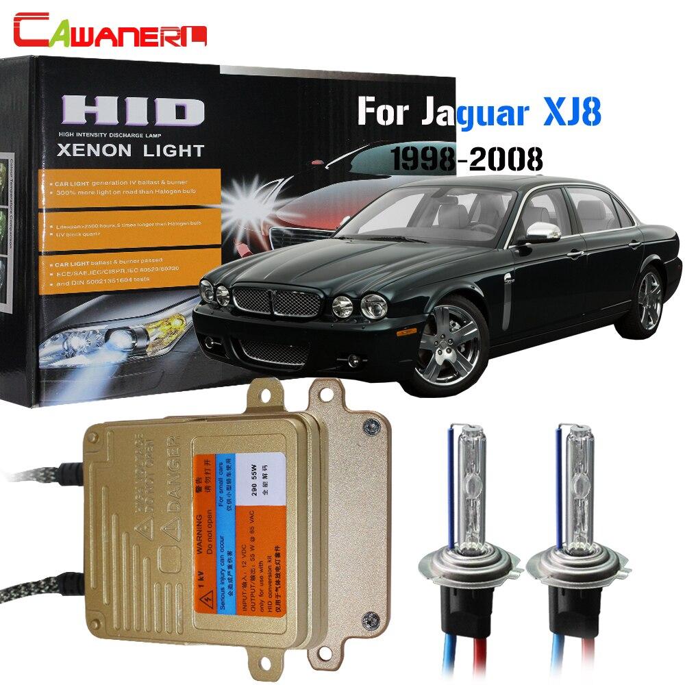 Cawanerl H7 55 W Auto pas d'erreur ampoule de Ballast 3000 K-8000 K HID Kit xénon AC voiture lumière phare feux de croisement pour Jaguar XJ8 1998-2008