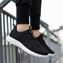 Popular style Casual shoes Lace-up Men Shoes Fashion brand Spring Summer Flat Solid Male  5