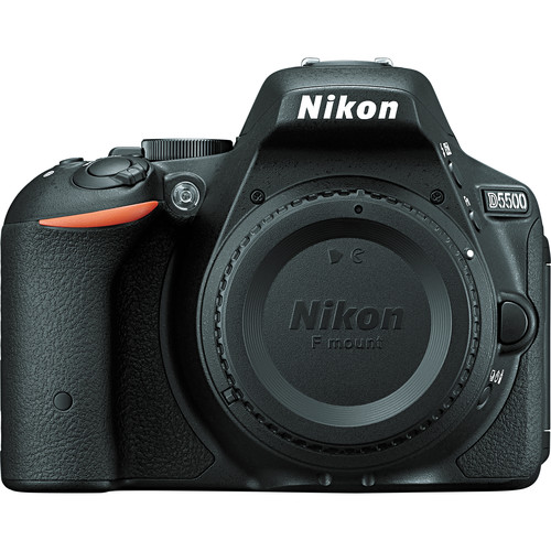 Nikon  D5500 -24.2MP   -No Optical Low-Pass Filter -3.2″ Vari-Angle Touchscreen -Built-In Wi-Fi