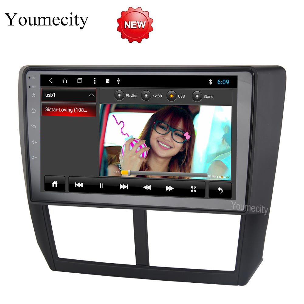9 inch Android 8.1 Octa 8 Core 2G RAM 32G ROM Car DVD Player for Subaru Forester 2008-2012 Car Radio GPS Navigation BT WIFI Map ownice c500 4g sim lte octa 8 core android 6 0 for kia ceed 2013 2015 car dvd player gps navi radio wifi 4g bt 2gb ram 32g rom