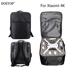 DOITOP Portable Storage Bag For Xiaomi 4K Drone Bag High capacity Drone Backpack For Xiaomi 4K Two-way zipper Drone Bags Handbag