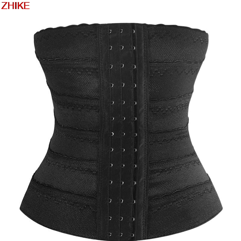 ZHIKE-1PC Tummy Fat Burner Slimming Body Sculpting Band Women Shaper Intimates Waist Slimmer Belt Corset Weight Loss Body Shaper