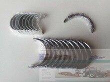 Zhejiang Xinchai 495BT, conjunto de cojinetes principales, cojinetes de biela y anillos de empuje (todo el tamaño del stardard), número de pieza: