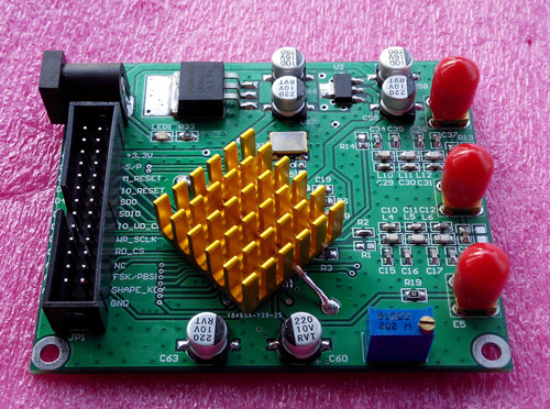 Electronic competition module DDS module AD9854 module signal generator with filter (special) electronic competition module ad9850 module dds module ad9851 module high frequency signal source