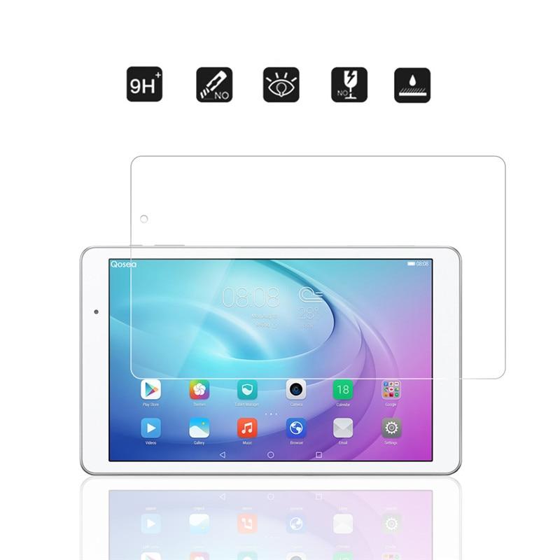 imágenes para Qosea para huawei mediapad t2 10.0 pro t2 10.0 pro vidrio templado 9 H Resistente A Los Arañazos Claro Protector de Pantalla de Alta Calidad película